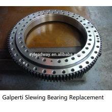 External Hardened Gear Galperti Slewing Bearing Replacement