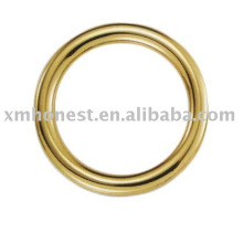 Bague métallique en or
