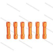 Separadores de aluminio o separadores de aluminio estriados escalonados de aluminio M3