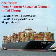 Shantou sea freight to Tai Chung shipping timetable