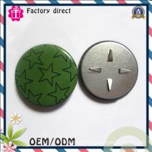Round Shape Sliver Colorful Promotion Badge