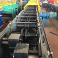 Color Coated Steel Storage Rack Shelf Roll Making Machine