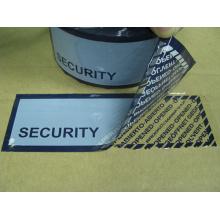 Étiquette de sécurité Slivoïde