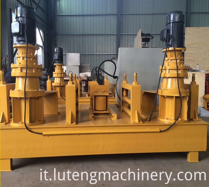 Large channel steel profile bending machine