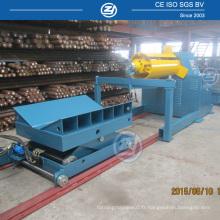 Uncoiler Machine avec 10 tonnes Capacité Coil Car