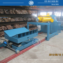 Uncoiler Machine com 10 Toners Capacity Coil Car