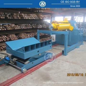 Máquina Uncoiler com 10 toneladas de bobina de capacidade