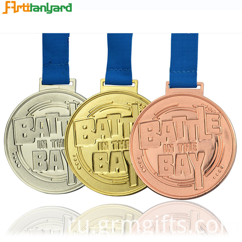 Military Medals With Plating