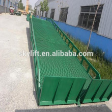 10T movable loading dock ramp