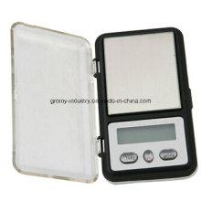Eletrônico digital de alta precisão escala de bolso escala de diamante 100g / 0.01g