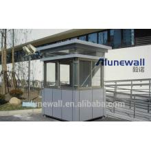 Alunewall 2 metros de ancho Panel compuesto de acero inoxidable de venta directa de la fábrica china