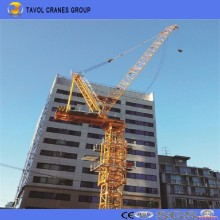 Qtd4015 6ton Luffing Jib Tower Cranes Heavy Equipment Construction