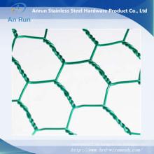 Hochwertiges verzinktes oder PVC-beschichtetes Sechskant-Maschendraht (Hersteller)