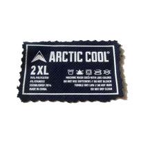 Custom Heat Transfer Sticker Wash Care T Shirt Washing for Label  back collar of Garment
