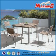 Teak Wood Garden Furniture Bistro Dining Table Set