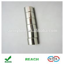 N40 nickle coating cylinder neodymium magnets