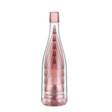 Conjuntos de copos de vinho destacáveis de plástico