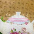 Fond d'écran design émaillé Chinese Pot