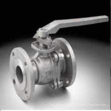Válvula de aço inoxidável de fundição por cera perdida (usinagem)