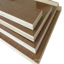 18mm poplar core melamine faced B1 fire / flame retardant / proof / resistance / rated plywood for furniture and wooden house