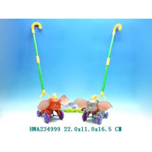 Free wheel cart cartoon elephants toys