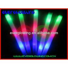 Neon LED flash espuma varita para fiesta de noche toda venta 2016