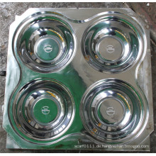 Kundengebundene 1 * 4 Hohlraum-Melamin-Schüssel-Kompressions-Form (MJ-015)