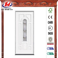 Primed Steel Prehung Front Glass Door