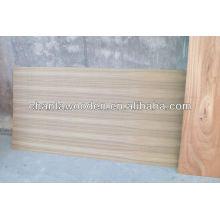 Madera de contrachapado de madera de teca con núcleo de álamo