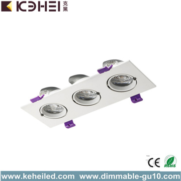 3000K LED Trunk Downlight with Three lamps 3*12W
