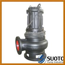 Pompe d'égout submersible pour eaux usées