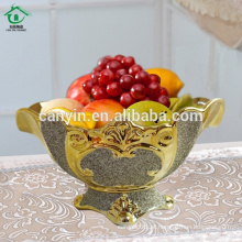 2015 irregular fancy hotel restaurant pratos de cerâmica de frutas