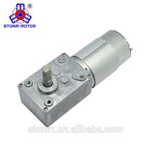 горячая продажа 12В 2.5 об / мин червячный робототехники мотор-редуктор с коробкой передач