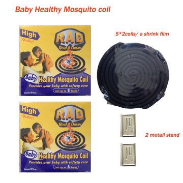 Rad Baby Healthy Black Mosquito Coil