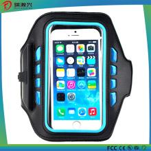Caja al aire libre del teléfono del brazalete de Lycra del deporte para el iPhone 6s