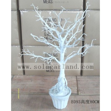 Great Design PE Plastic Crystal Tree Wedding Table Centerpiece Tree Wishing Tree