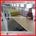 Ligne d'extrusion de panneau de porte WPC / 600-900mm Machine en bois à portes vitrées en PVC / pvc