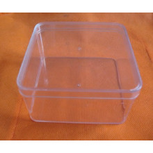 Recipientes quadrados de armazenamento de alimentos para lanches