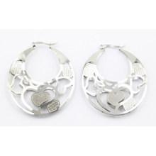 Nuevo diseño de acero inoxidable de moda Doyble año pendientes