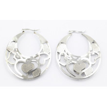 New Design Fashion Stainless Steel Doyble Year Earrings