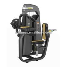 uso de gimnasio comercial máquina de Tricep sentado