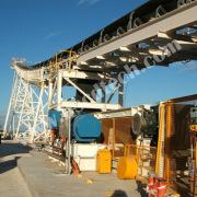 500mm diameter TUV qualified rubber lagging drive drum conveyor pulley for conveyor belt accessories