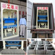 Melhor marca! Melhor qualidade! Yugong marca QT10-15 concreto tijolo máquina com preço competitivo