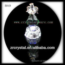 K9 Crystal Angel mit LED-Lichtbasis