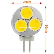 Nouvelle lampe à LED à 12 volts G4 3W COB