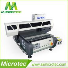 Impressora de mesa UV Flatbed, alta qualidade de impressora UV do leito