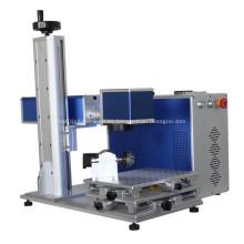 Máquina de marcado de metal con láser de fibra para acero al carbono