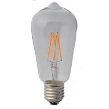 St58 Vintage LED filamento Bulb2w 4W 6W 8W