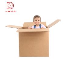 Caja de papel de gran tamaño popular del cuadrado del tamaño personalizado al por mayor a granel 3 capas