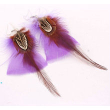 2014 Fashion Earrings Costume Feather Earrings